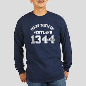 Ben Nevis Long Sleeve Dark T-Shirt