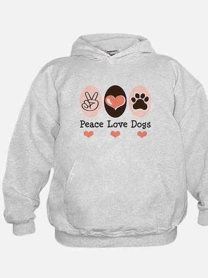 Peace Love Dogs Hoody