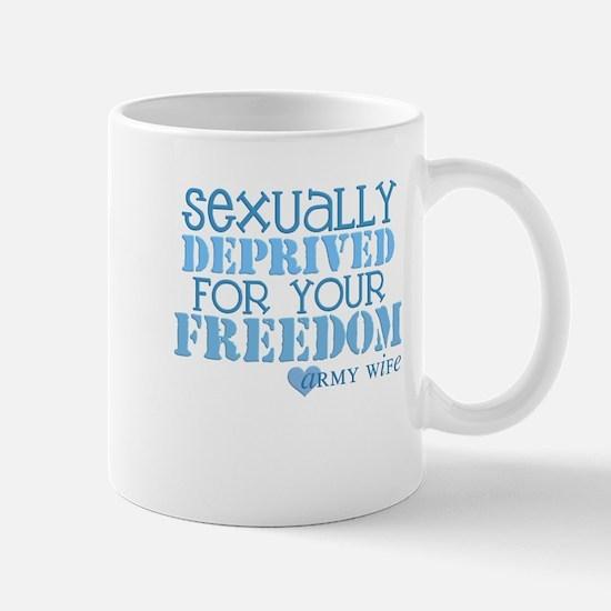 Sexually Deprived - Army Wife Mug