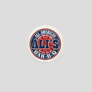 Ali's All American BBQ Mini Button