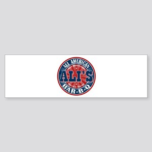 Ali's All American BBQ Bumper Sticker