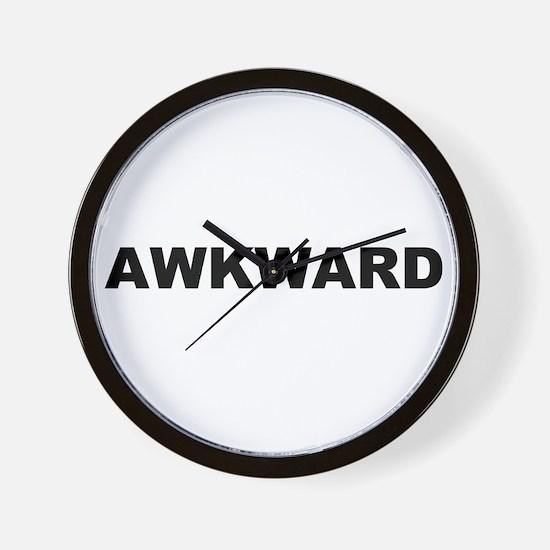 Awkard Wall Clock