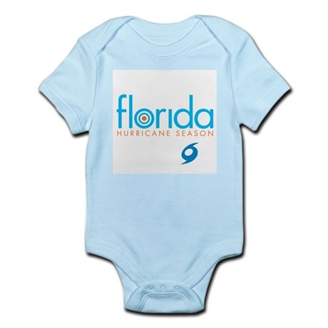 Hurricane Season - blue Infant Creeper