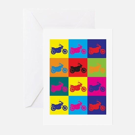 Biking Pop Art Greeting Cards (Pk of 10)