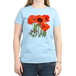 Red Poppies Women's Light T-Shirt