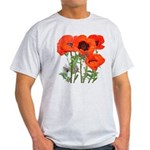 Red Poppies Light T-Shirt