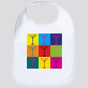 Bartending Pop Art Bib