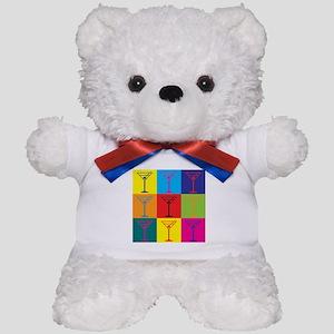 Bartending Pop Art Teddy Bear
