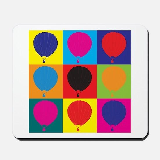 Ballooning Pop Art Mousepad