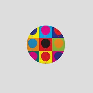 Ballooning Pop Art Mini Button