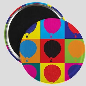 Ballooning Pop Art Magnet