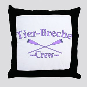 Tier Breche Crew Throw Pillow