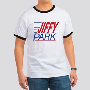 JIFFY PARK 2 sided Ringer T