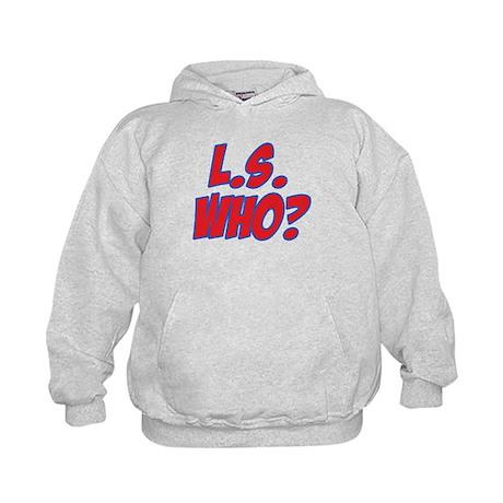 L.S. Who? Kids Hoodie
