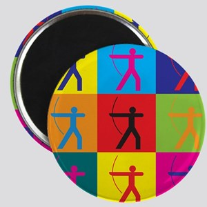 Archery Pop Art Magnet