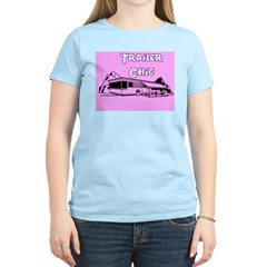 Trailer Chic Women's Pink T-Shirt