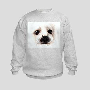 Baby Seal Kids Sweatshirt