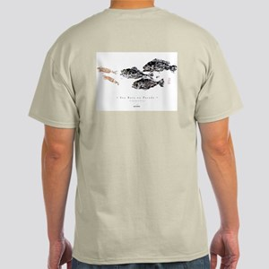 """SEA BASS ON PARADE"" Light T-Shirt"
