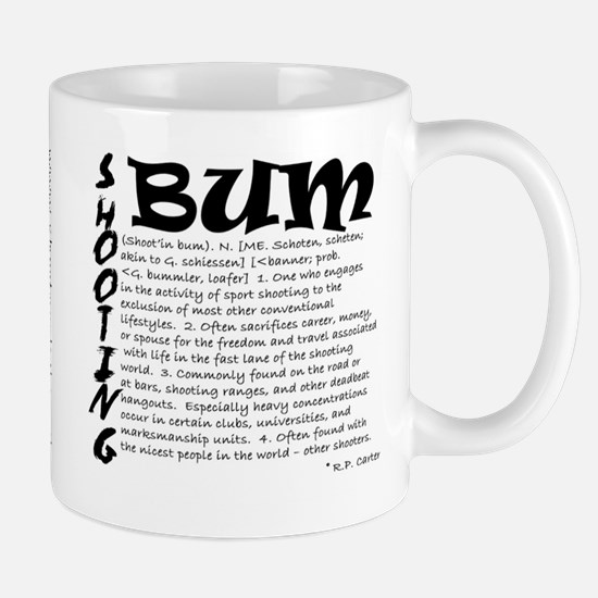 "ShortPockets ""Shooting Bum"" Mug"