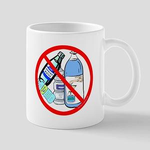 No To Bottled Water Mug