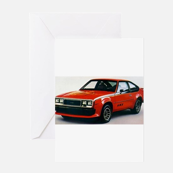 AMC AMX Greeting Card