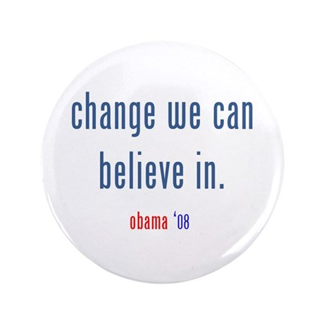 "change we can believe in 3.5"" Button (100 pac"