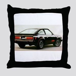 Other Black AMX Throw Pillow