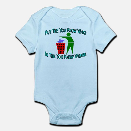 You Know Where Infant Bodysuit