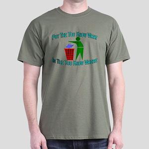 You Know Where Dark T-Shirt
