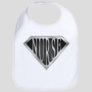 SuperNurse(metal) Bib