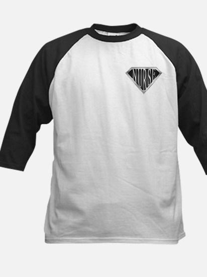 SuperNurse(metal) Kids Baseball Jersey