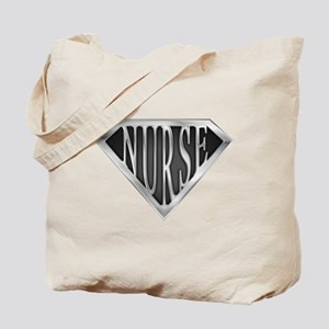 SuperNurse(metal) Tote Bag