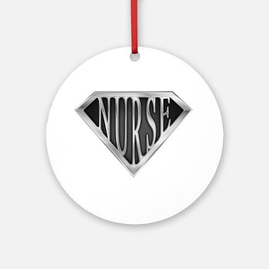 SuperNurse(metal) Ornament (Round)