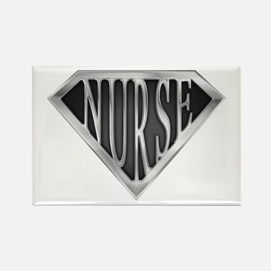 SuperNurse(metal) Rectangle Magnet (10 pack)