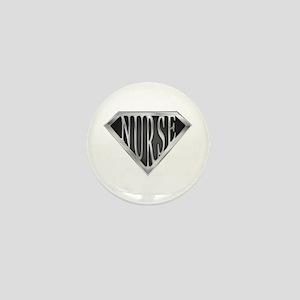 SuperNurse(metal) Mini Button
