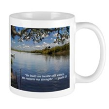 Beside Still Waters 11 Oz Mug Mugs