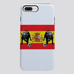 Spanish Football Bull F iPhone 8/7 Plus Tough Case