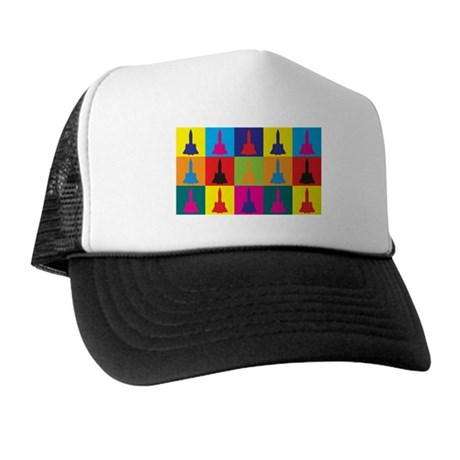Aerospace Engineering Pop Art Trucker Hat