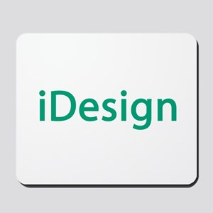 iDesign, Teal Interior Design Mousepad