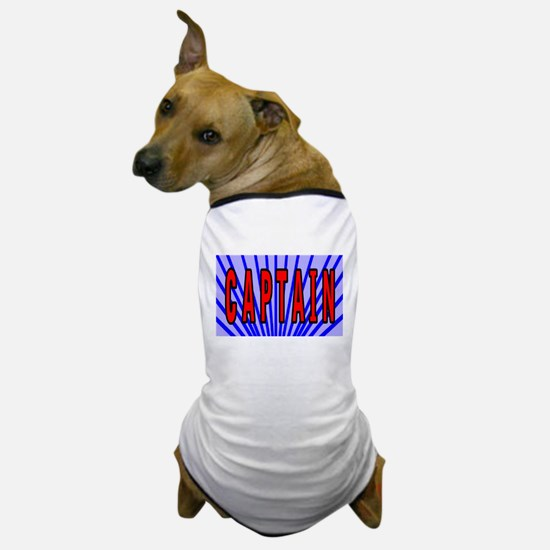 Captain t-shirt shop Dog T-Shirt