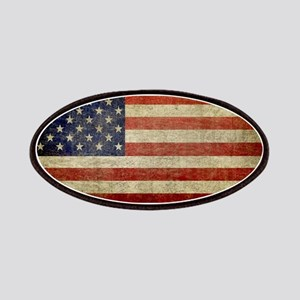 Distressed American Flag Patch