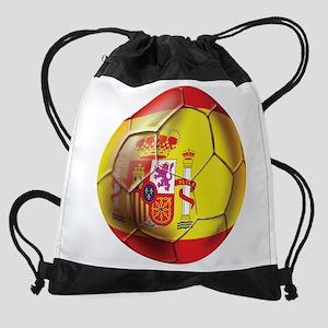 Spanish Futbol Drawstring Bag