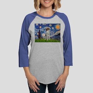 Starry Night /German Short Long Sleeve T-Shirt