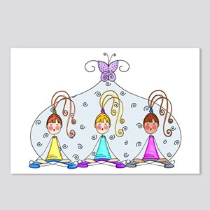 Yoga Trio Postcards (Package of 8)