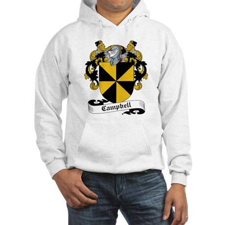 Campbell Family Crest Hooded Sweatshirt