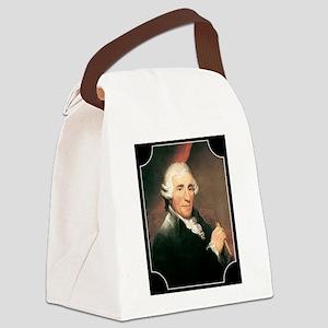 Josef Haydn Canvas Lunch Bag