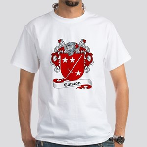 Cannon Family Crest White T-Shirt