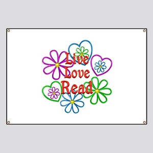 Live Love Read Banner