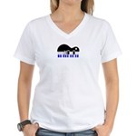 Pollytone Women's V-Neck T-Shirt