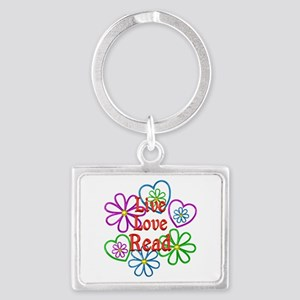 Live Love Read Landscape Keychain